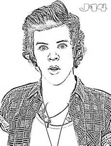 free coloring pages of liam payne one direction