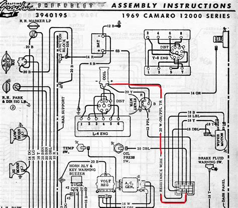 69 camaro wiring diagram manual wiring diagrams wiring