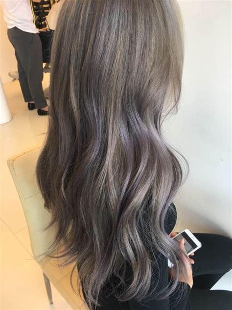 popular hair colour for korean best 25 blue brown hair ideas on pinterest brown hair