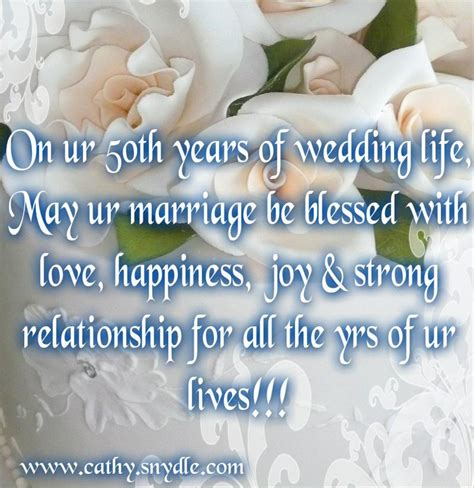 50th wedding anniversary quotes for and wedding quotes messages and wedding wishes cathy