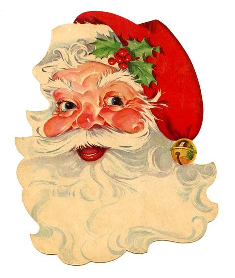 vintage santa claus coloring pages