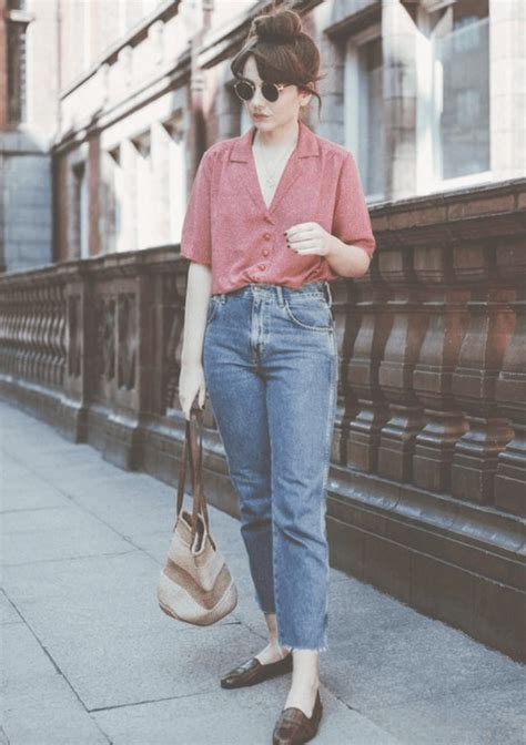 outfits  mom jeans chic ideas   wear mom jeans