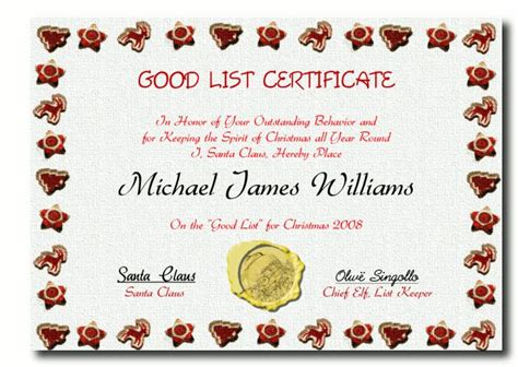 santa certificate template 25 best ideas about letter from santa template on