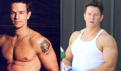celebrity tattoo removal before after wahlberg tattoos and and the on