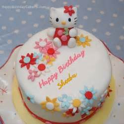 hello kitty birthday cake for sheeba