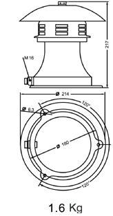 Jual Alarm Motor Type R toko penjualan alat survey alat lab alat teknik