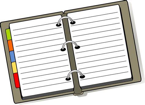 Wedding Notebook Organizer Free Downloads free vector graphic notebook diary planner organizer