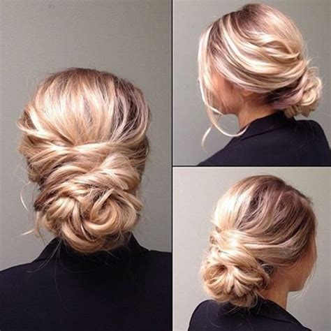 Wedding Hairstyles Updos For Guests by This Softly Twisted Updo Prom Hairstyles