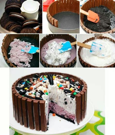 how to make cake decorations at home 25 best ideas about ice cream cakes on pinterest
