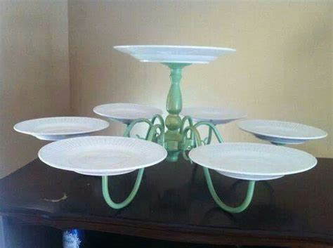 Diy Chandelier Cupcake Stand Shabby Chic Cakes And To On