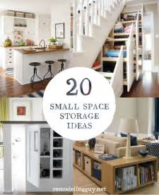 Small Storage Ideas Home - 20 small space storage ideas