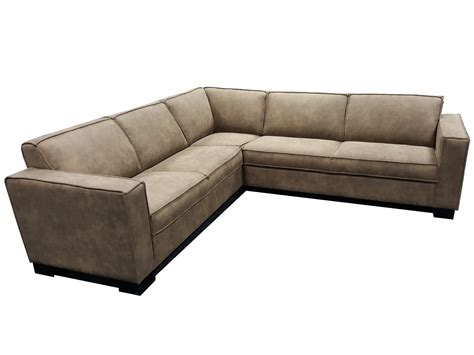 loungebank leder hoekbank leder quatro lifestylemaison industriele meubels