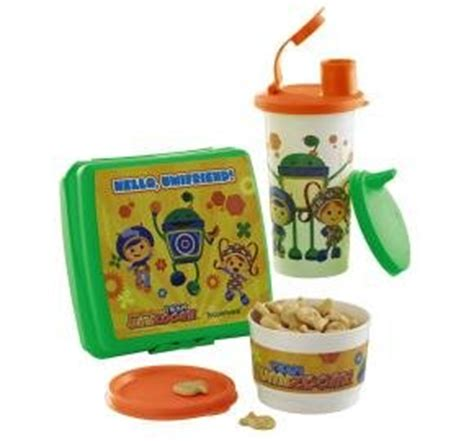Tupperware Kiddos Lunch Set tupperware team umizoomi nickelodeon lunch snack set with sippy bell tumbler