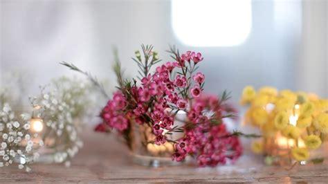 candele e affini diy floral votives