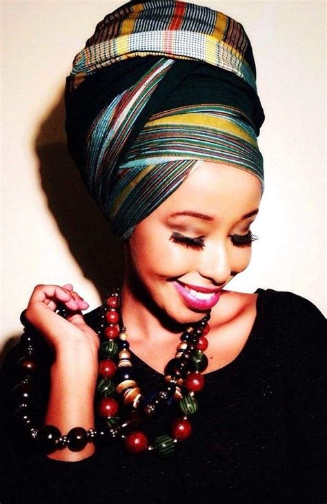 afro hairstyles with scarves wrap if anyone knows of a how to tutorial for this