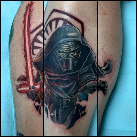 tattoo parlour ennis let us show you the dark side with these kylo ren tattoos