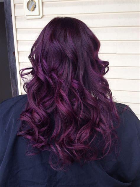 how to color hair purple purple balayage hair hair