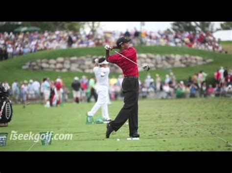 youtube tiger woods golf swing tiger woods golf swing side and back 2009 us pga youtube