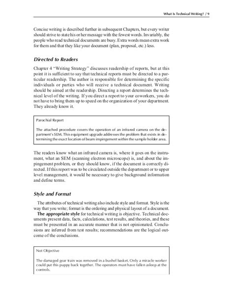 technical writing test paper engineers guide to technical writing