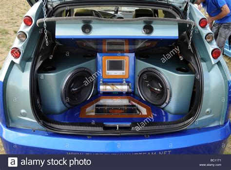 modified ford focus during car audio systems and tuning