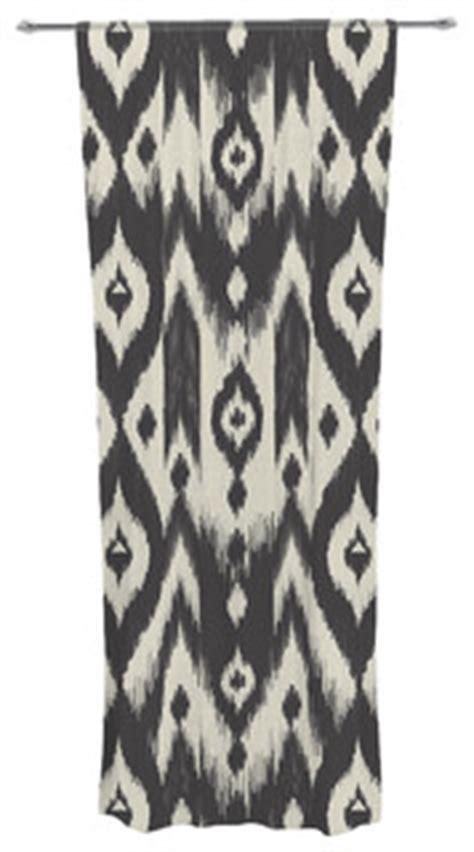 deko modern 2796 amanda quot black tribal ikat quot decorative