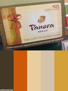 Panera Bread Gift Card Pin - colors the o jays and panera bread on pinterest