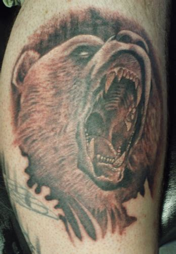 grizzly bear tattoos designs hudson gallery grizzly tattoos