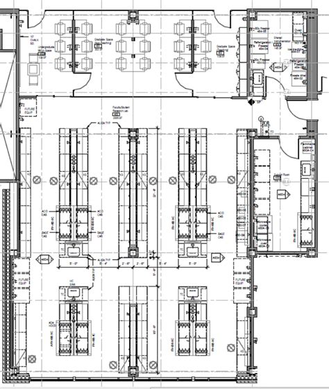 laboratory floor plan chemistry research labs