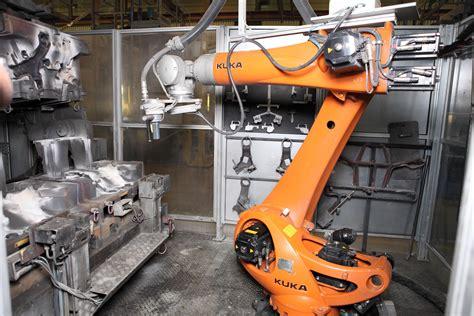 bmw factory robots kuka robotics at automotive manufacturer bmw