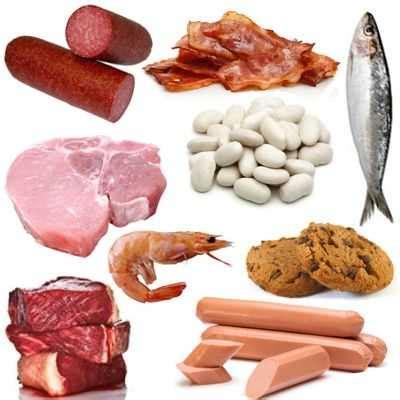 alimentos ricos en purinas  aumentan los niveles de acido urico alimentos  acido urico