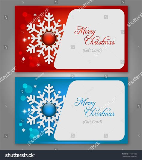 How To Clone Gift Cards - abstract christmas gift cards snowflake gems stock vector 116894755 shutterstock