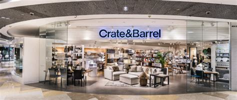 crate and barrel housewares and furniture store singapore crate and