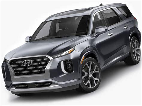 Hyundai Modelle 2020 by 3d Hyundai Palisade 2020 Model Turbosquid 1375245