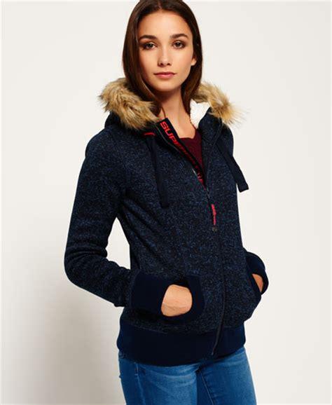 Hoodie Zipper Hijau Fuji Size M womens fuji zip hoodie in rugged navy navy superdry