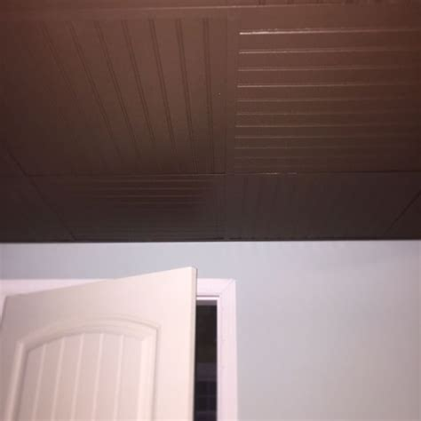 Beadboard Ceiling Tiles - 17 best images about drop ceilings on pinterest thin plywood grid system and mud rooms