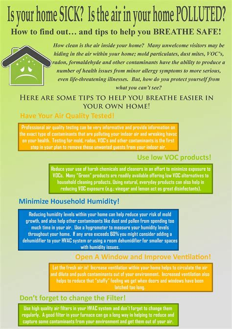 sick house syndrome is your home sick sick building syndrome infographic