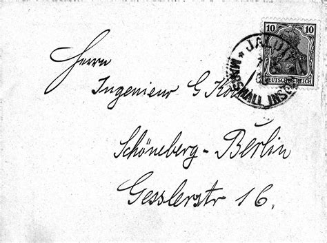 Demand Letter German Dirk H R Spennemann Sts And Postal History Of The German Marshall Islands Germania Issues