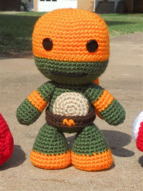 amigurumi ninja pattern free 1000 ideas about crochet ninja turtle on pinterest