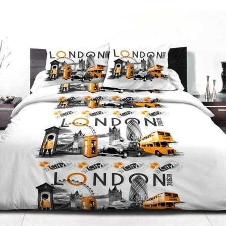 Housse De Couette Londre by Housse De Couette Londres Linge De Lit Londres