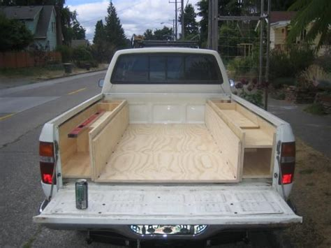 truck bed storage ideas in bed storage ideas toyota minis dedicated to