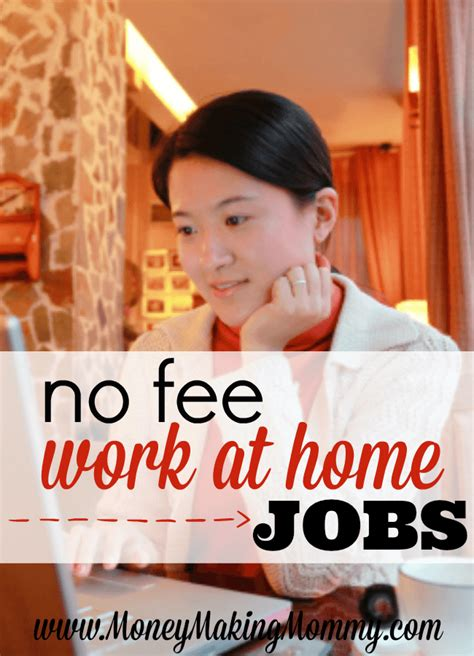 No Fee Online Jobs Work From Home - no fee work at home jobs job leads included
