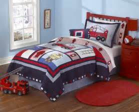 just boys bedding firemen and trucks a must