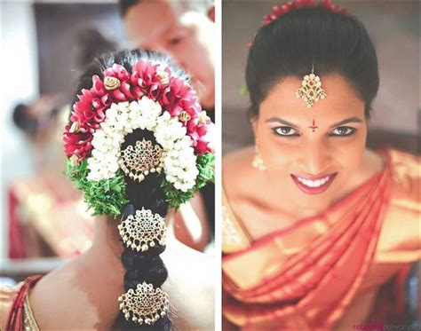 Wedding Hairstyles In India by South Indian Bridal Hairstyles For Receptions