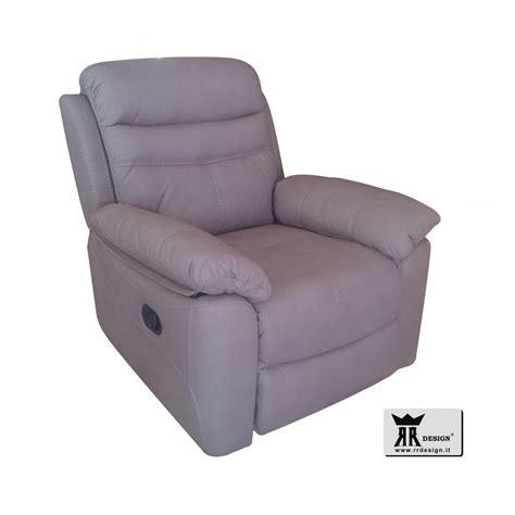 poltrona relax poltrona relax manuale reclinabile tessuto della linea rr