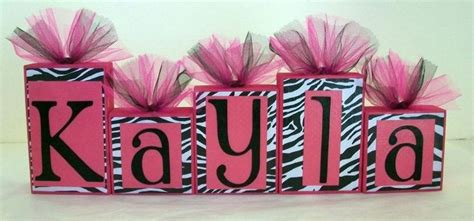 Pink Zebra Print Baby Shower Decorations by Custom Order For Texaslady2010 Zebra Print With Pink