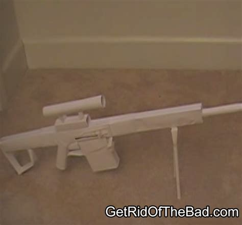Make Paper Gun - how to make a paper gun that shoots get rid of the bad