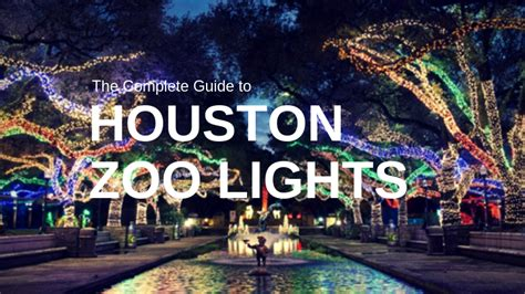 houston zoo lights tickets houston zoo lights 2018 dates hours discounts and more
