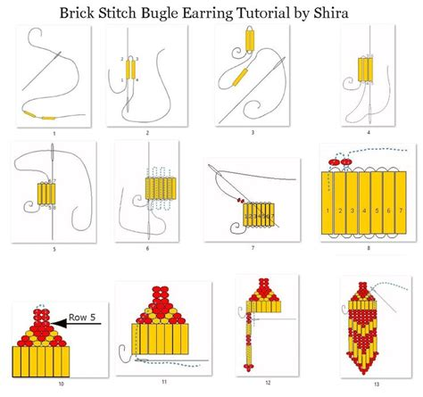 beading brick stitch tutorial 17 b 228 sta bilder om jewelry p 229 superduo peyote
