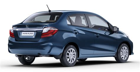 honda brio image honda brio amaze sedan facelift makes debut in india image