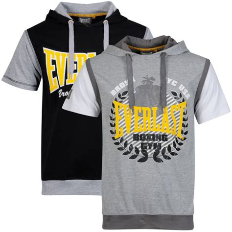 T Shirt Everlast White W3gj everlast s 2 pack sleeve layered t shirts grey